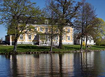 manor house near Stockholm by the lake