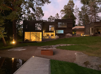 contemporary vill to rent sweden